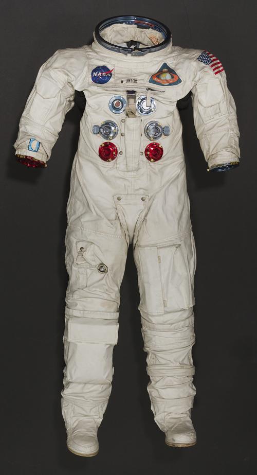 Pressure Suit, A7-L, Anders, Apollo 8, Flown