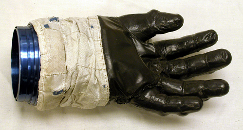 Glove, Left, A7-L, Intravehicular, Apollo 8, Lovell, Flown