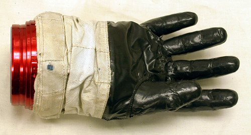 Glove, Right, A7-L, Intravehicular, Apollo 8, Lovell, Flown