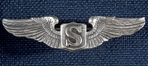Badge, Service Pilot, United States Army Air Forces