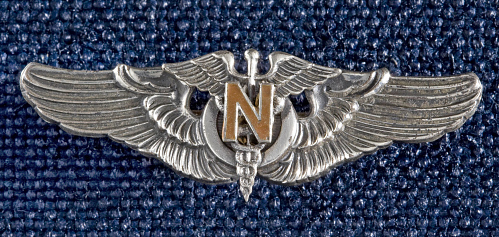 Badge, Flight Nurse, United States Army Air Forces
