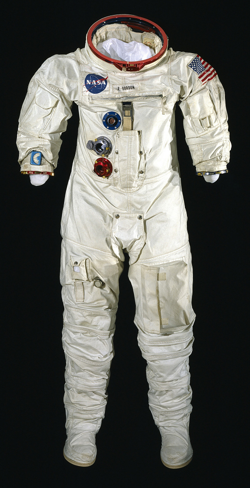 Pressure Suit, A7-L, Gordon, Apollo 12, Flown