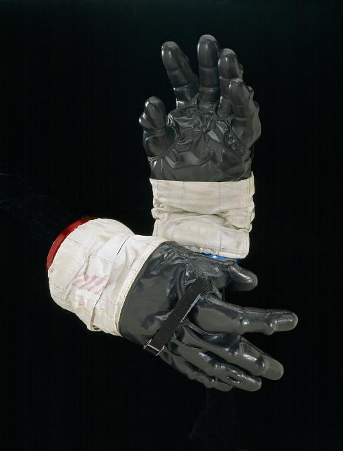 Glove, Intravehicular, Left, Shepard, Apollo 14, Flown
