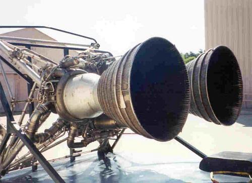 Titan 1 Rocket Engine