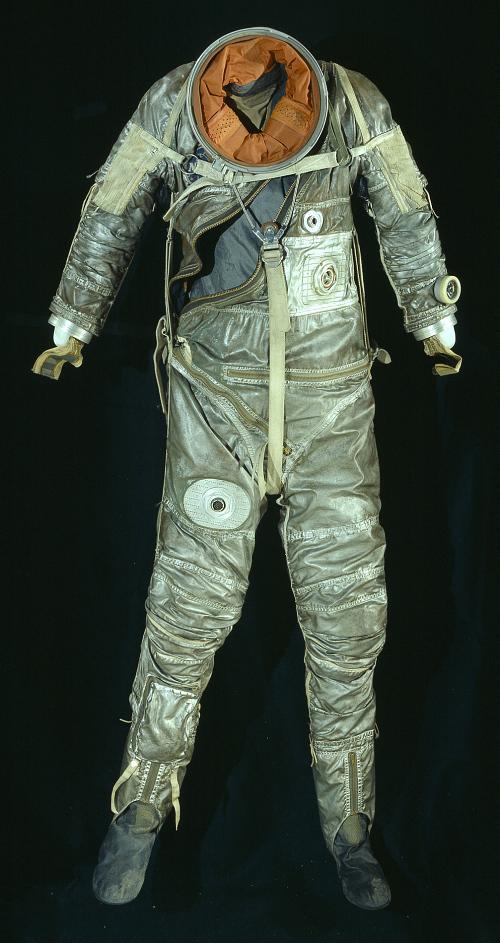 Pressure Suit, Mercury, M-15, Schirra, Training