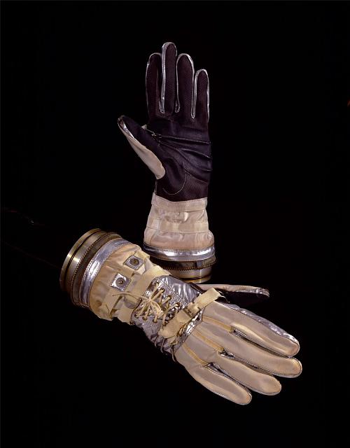 Glove, Left, Mercury, Sigma 7, Schirra, MG-15, Training