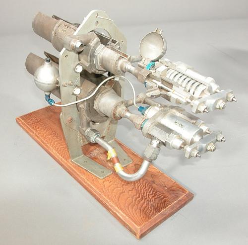 Rocket Engine, Liquid Fuel, Cutaway, Lark Missile