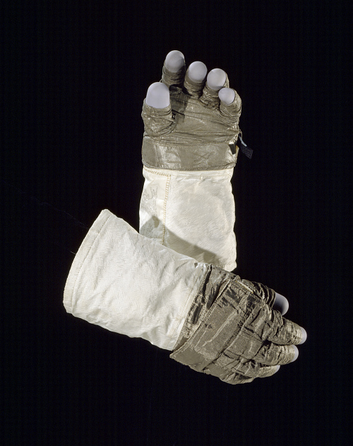 Glove, Left, A7-L, Extravehicular, Apollo 11, Aldrin, Flown