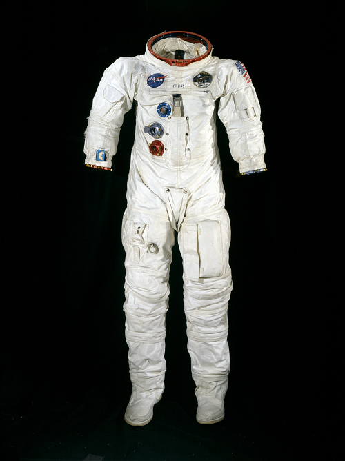 Pressure Suit, A7-L, Collins, Apollo 11, Flown