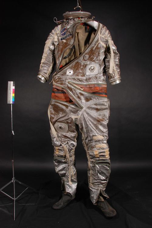 Pressure Suit, Mercury, Schirra, Anthropomorphic