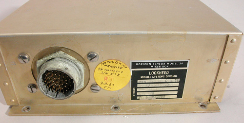Horizon Sensor, Satellite, Agena
