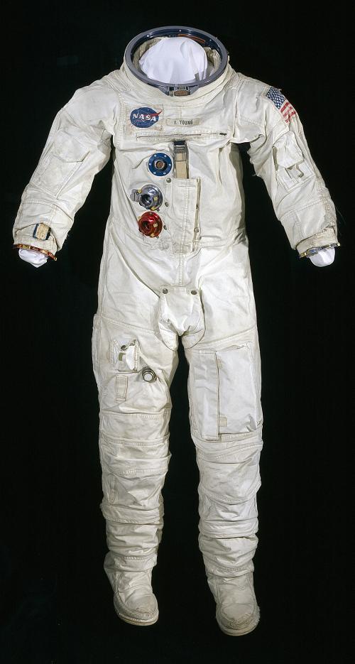 Pressure Suit, A7-L, Young, Apollo 10, Flown