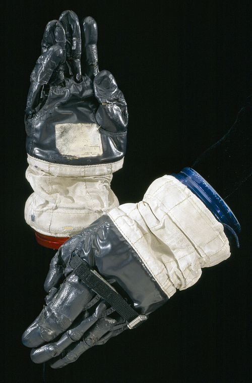Glove, Right, A7-L, Intravehicular, Apollo 10, Young, Flown