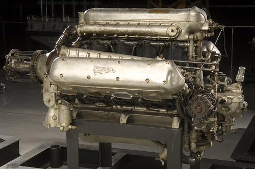 Napier Lion W-12 Engine