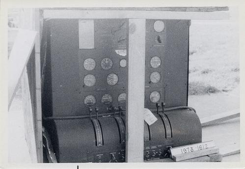 Simulator, Flight Engineer's Panel, 2-Engine
