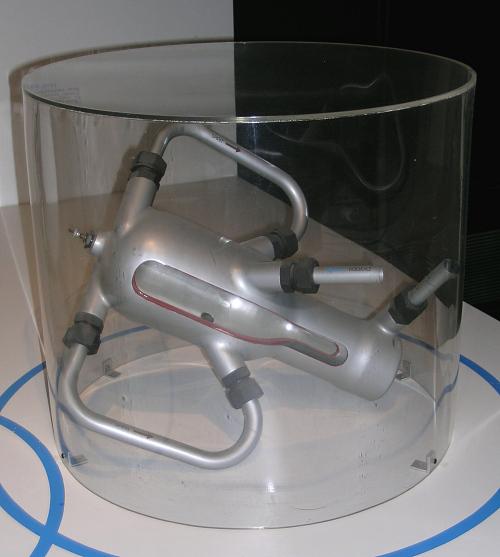 Model, Rocket Motor, Liquid Fuel, A-2, Cutaway