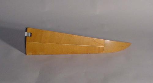 Nine-Ply Curved Spruce Rib, Nose Fairing, Poseidon C-3