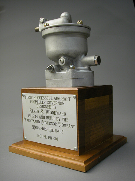 Woodward Propeller Governor, Model PW-34