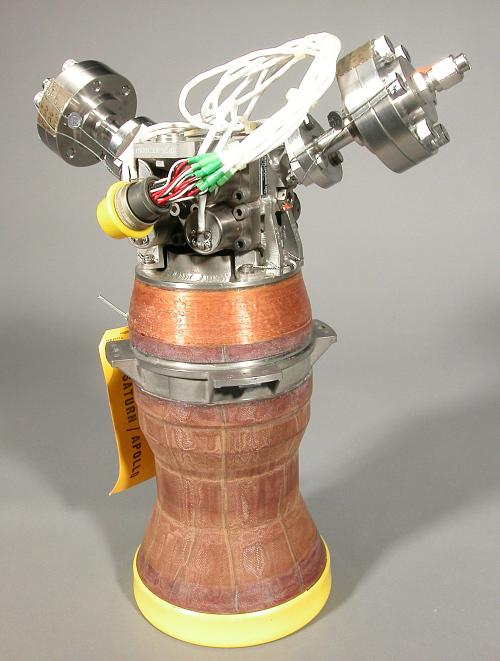 Rocket Engine, Liquid Fuel, Auxiliary Propulsion System (APS), Thruster, Saturn