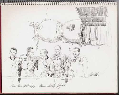 Prime Crews Apollo-Soyuz