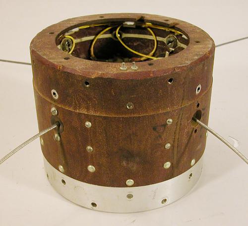 Satellite, Explorer, Antenna Ring Section