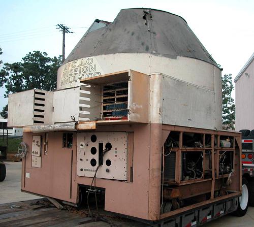 Crew Compartment, Apollo Command Module Simulator