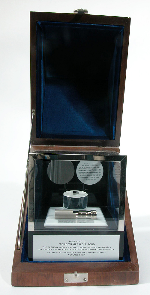 Experiment, Indium Antimonide Crystal, Skylab