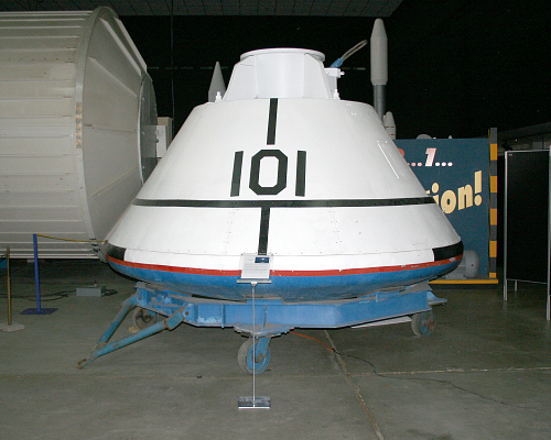 Boilerplate, Command Module, Apollo, #1101A