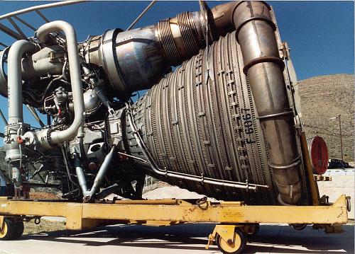 Rocket Engine, Liquid Fuel, F-1