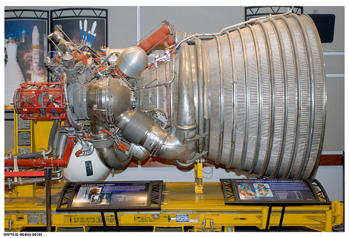 Rocket Engine, Liquid Fuel, J-2