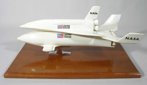 Model, Space Shuttle, McDonnell Douglas / Martin Marietta Reusable Concept, 1:80