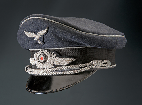 Cap, Service, Officer, Luftwaffe