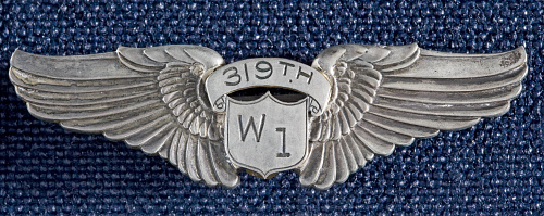 Badge, Pilot, Women's Airforce Service Pilots (WASP), Nyman