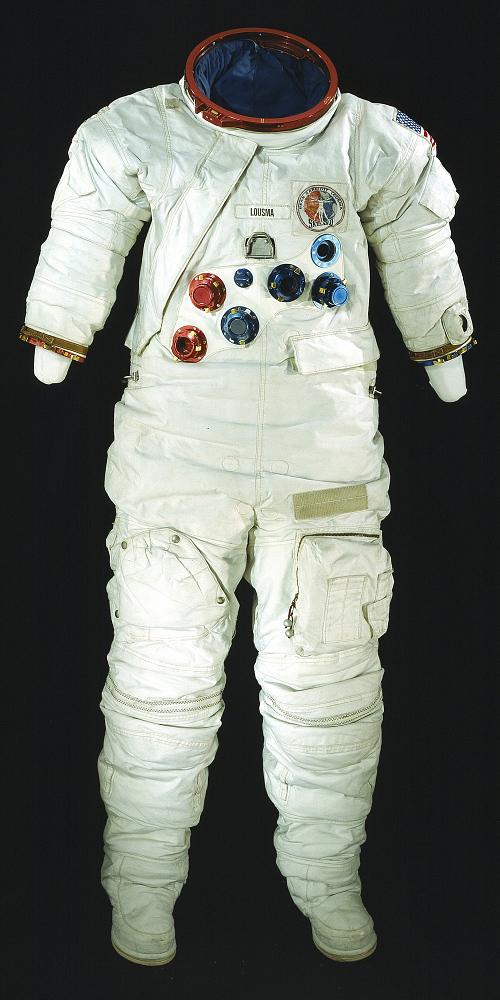 Pressure Suit, A7-LB, Lousma, Skylab 3, Flown