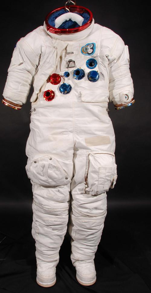 Pressure Suit, A7-LB, Gibson, Skylab 4, Flown