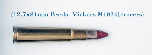 Cartridge, Tracer, 13.7 x 81mm Semi-Rimmed, Breda
