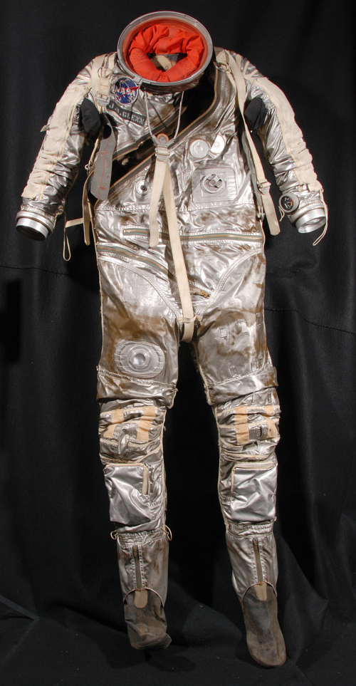 Pressure Suit, Mercury, Glenn, Training