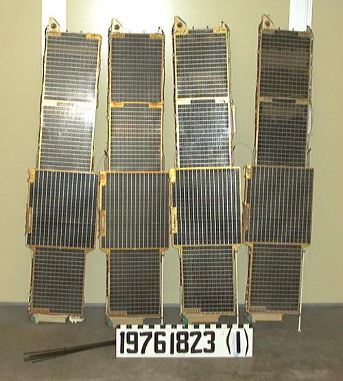Satellite, Uhuru, Solar Panels