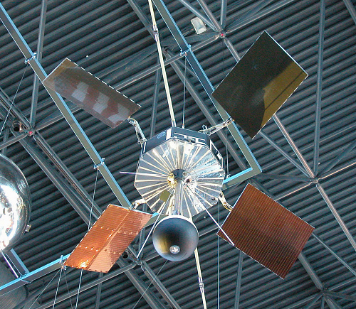 Satellite, IMP-A, Engineering Model