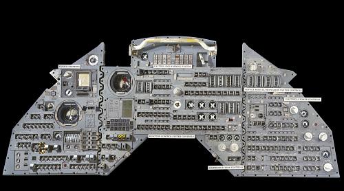Instrument Panel, Trainer, Command Module, Apollo