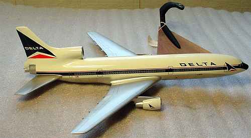 Model, Static, Lockheed L-1011, Delta Airlines
