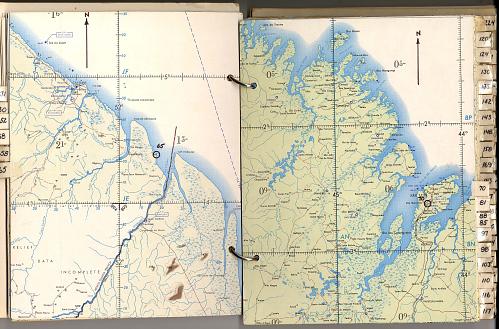 Maps, Apollo Landmark, Gemini 7