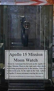 Chronograph, Scott, Apollo 15