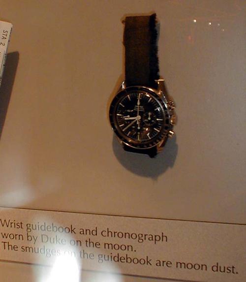 Chronograph, Duke, Apollo 16