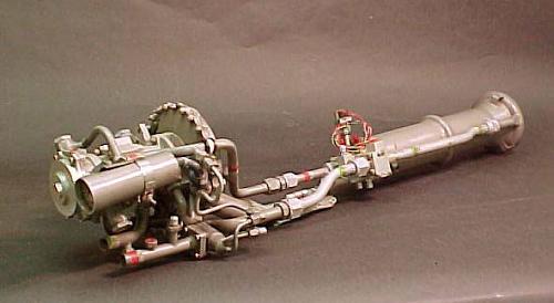 Rocket Engine, Liquid Fuel, XLR-48-RM-2, for Corvus Air-to-Surface Missile