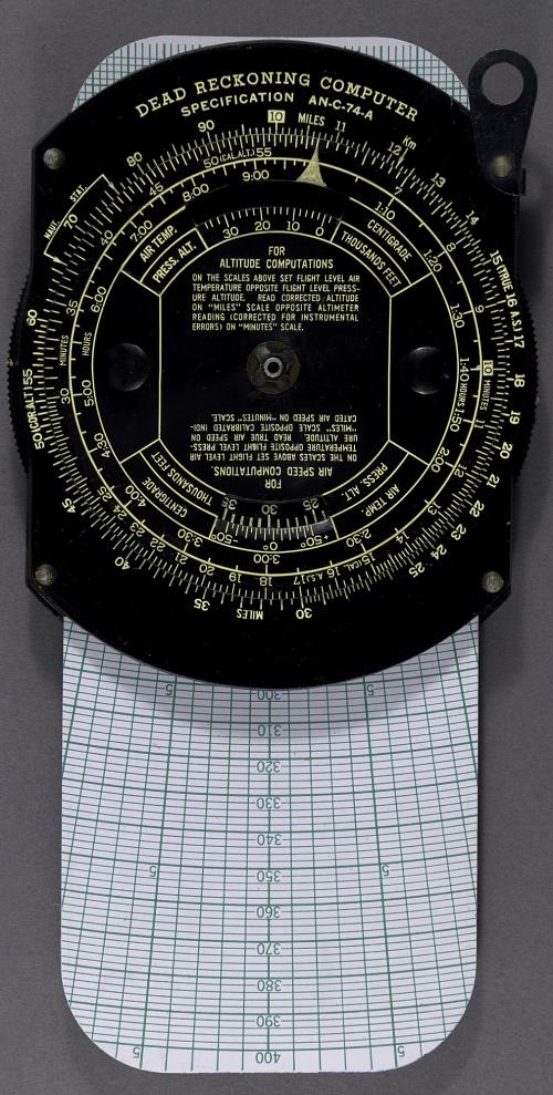 Computer, Dead Reckoning, Livingston Plastics Corp., E-6B, Prototype