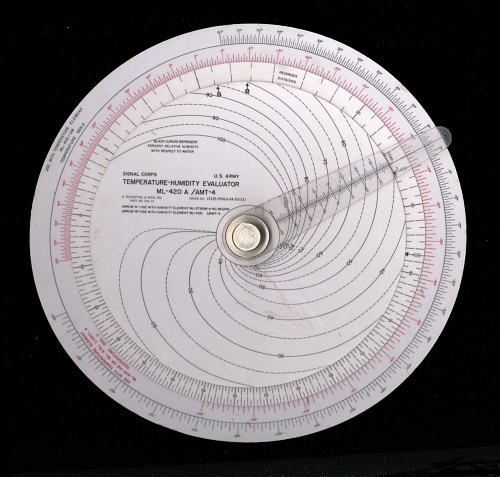 Computer, Temperature- Humidity Evaluator, Felsenthal