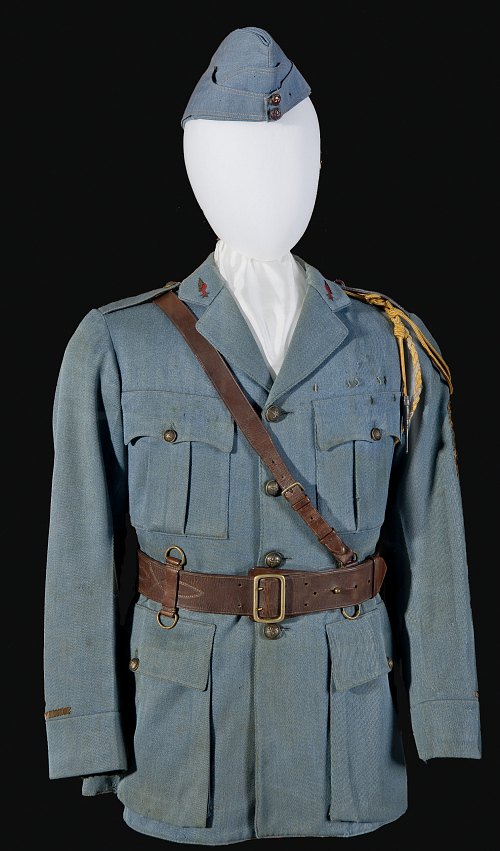 Coat, Service, French Air Service, Edwin Parsons