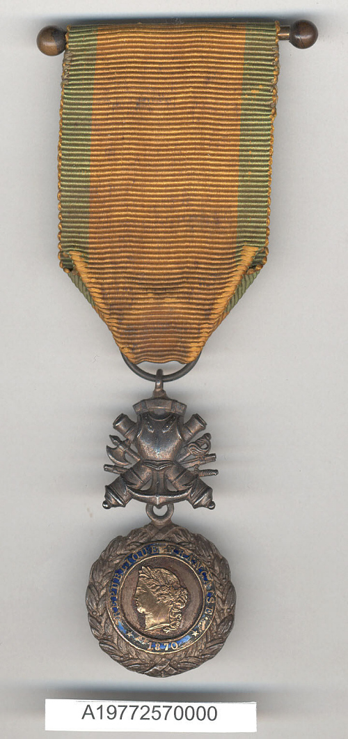 Medal, Medaille Militaire, Edwin Parsons