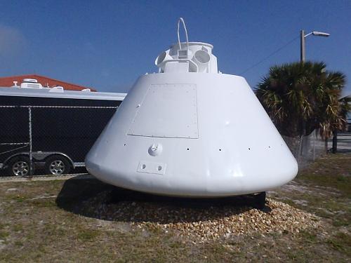 Boilerplate, Command Module, Apollo, #1206